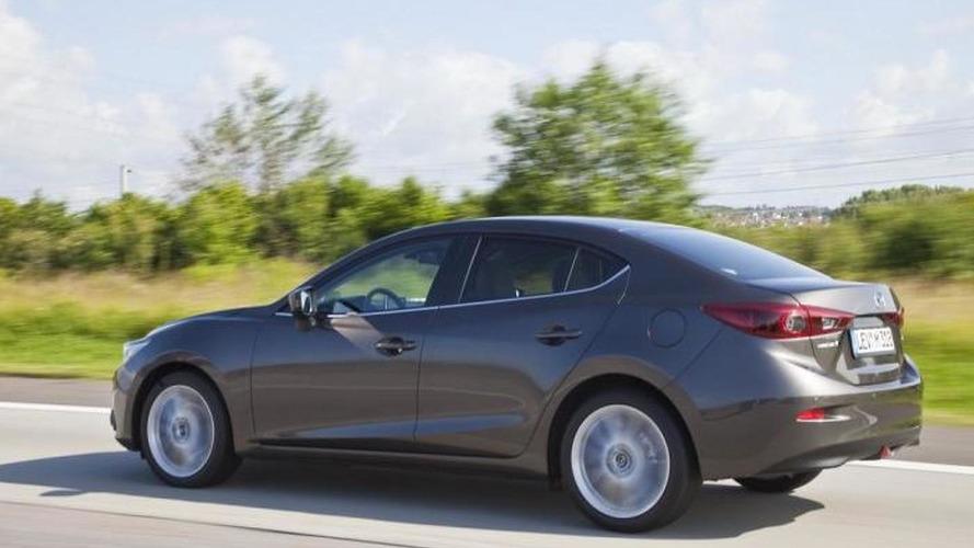 2014 Mazda3 Sedan revealed in official photos