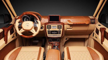 Mercedes-Benz G65 AMG by Hamann gets crocodile leather interior from TopCar