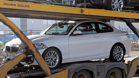 BMW 2 Series Refresh Spy Photos on Transporter