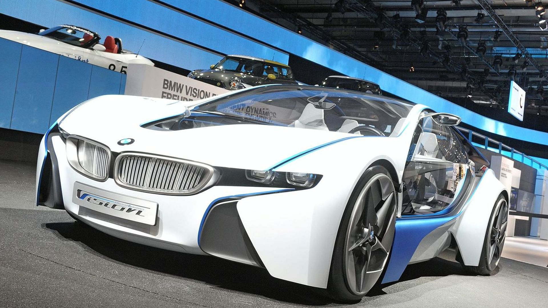 BMW Vision Efficient Dynamics Concept Officially Unveiled at Frankfurt Preview Event [video]