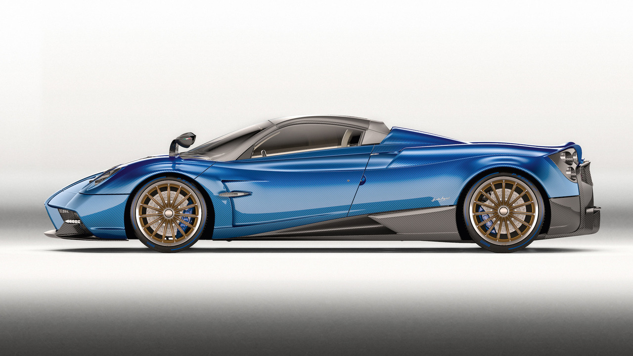 This is the stunning new £2m Pagani Huayra Roadster