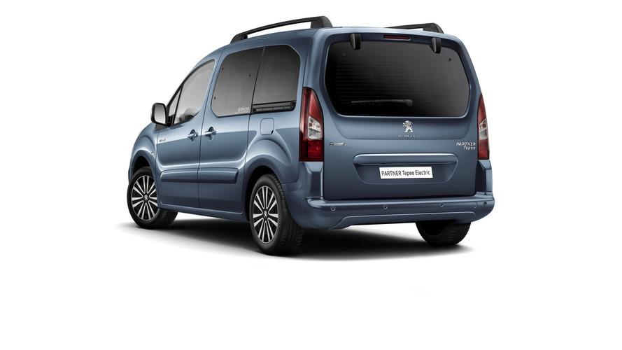 Electric Peugeot Partner Tepee to bring 100-plus mile range