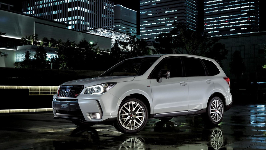 Subaru Forester tS revealed in Japan with 280 PS