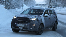 Next-gen Kia Sportage spied cold weather testing
