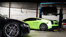 Lamborghini Gallardo Superleggera with ADV.1 wheels, 1024, 23.12.2011