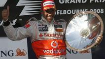 Lewis Hamilton Wins 2008 AUstralian Grand Prix
