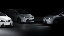 Toyota lineup for 2012 Paris Motor Show