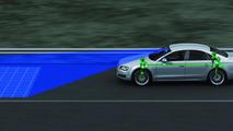 Audi predictive suspension identifies uneven road surfaces 01.03.2012