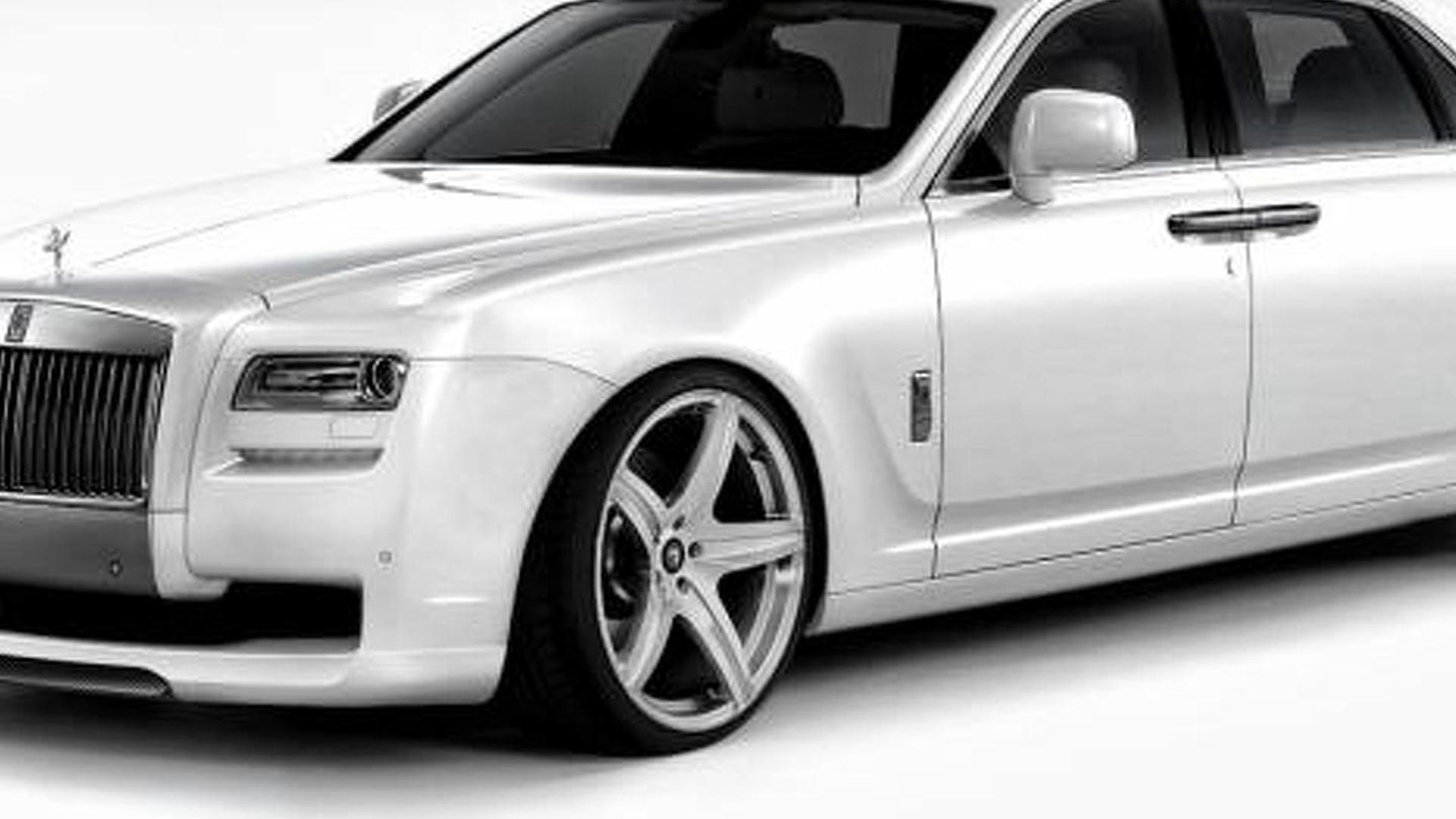 Rolls Royce Ghost by Vorsteiner previewed
