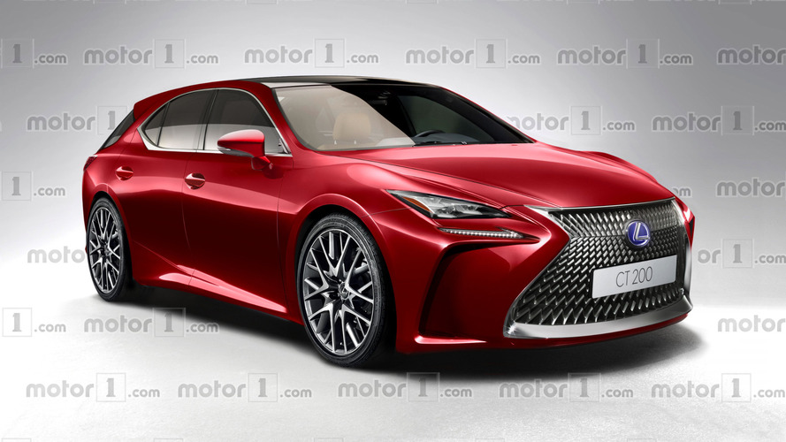 New Lexus CT 200h virtually imagined ahead of 2017 debut