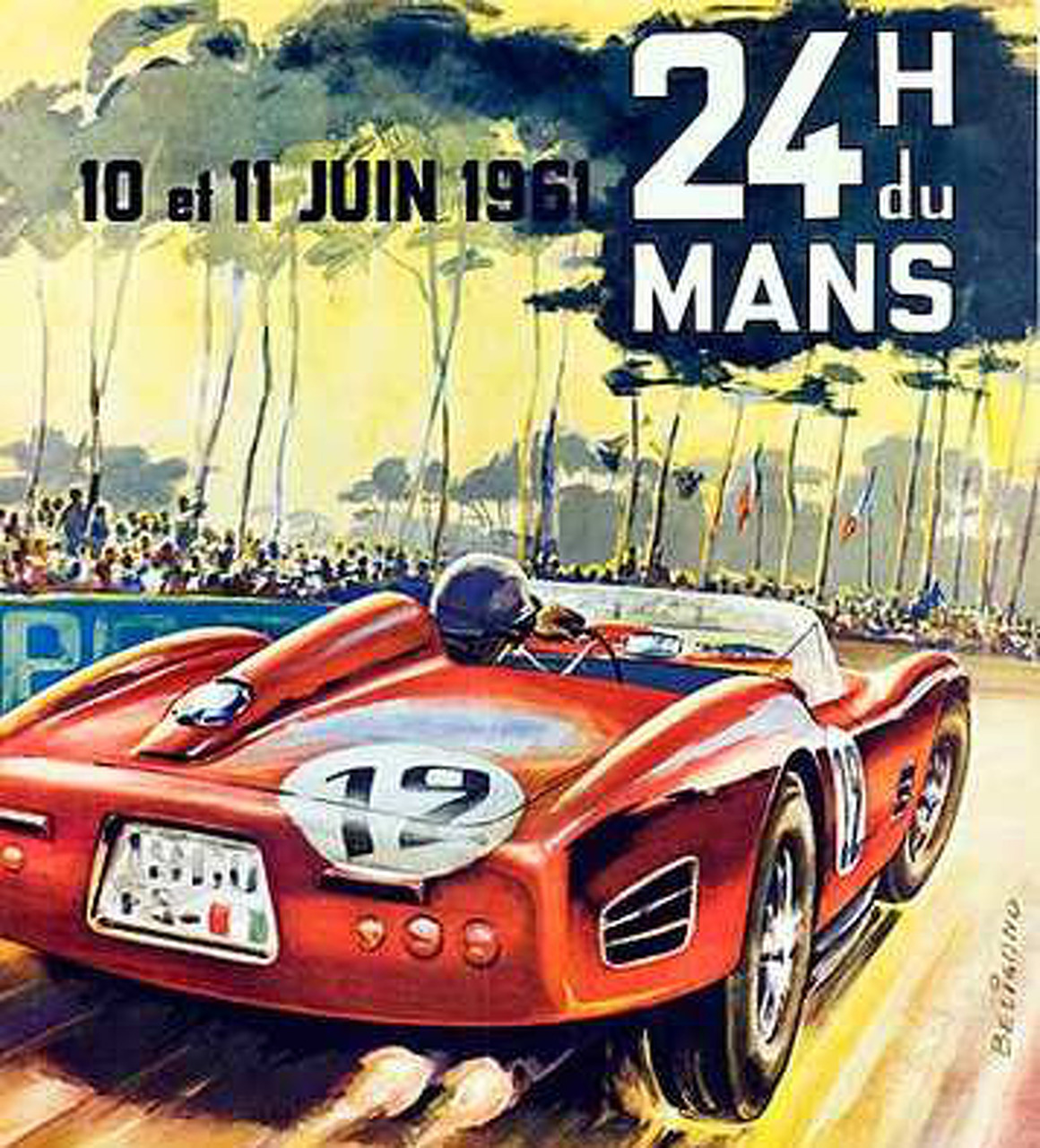 2013 Sebring Art Looks Much Better than Modern F1 Art