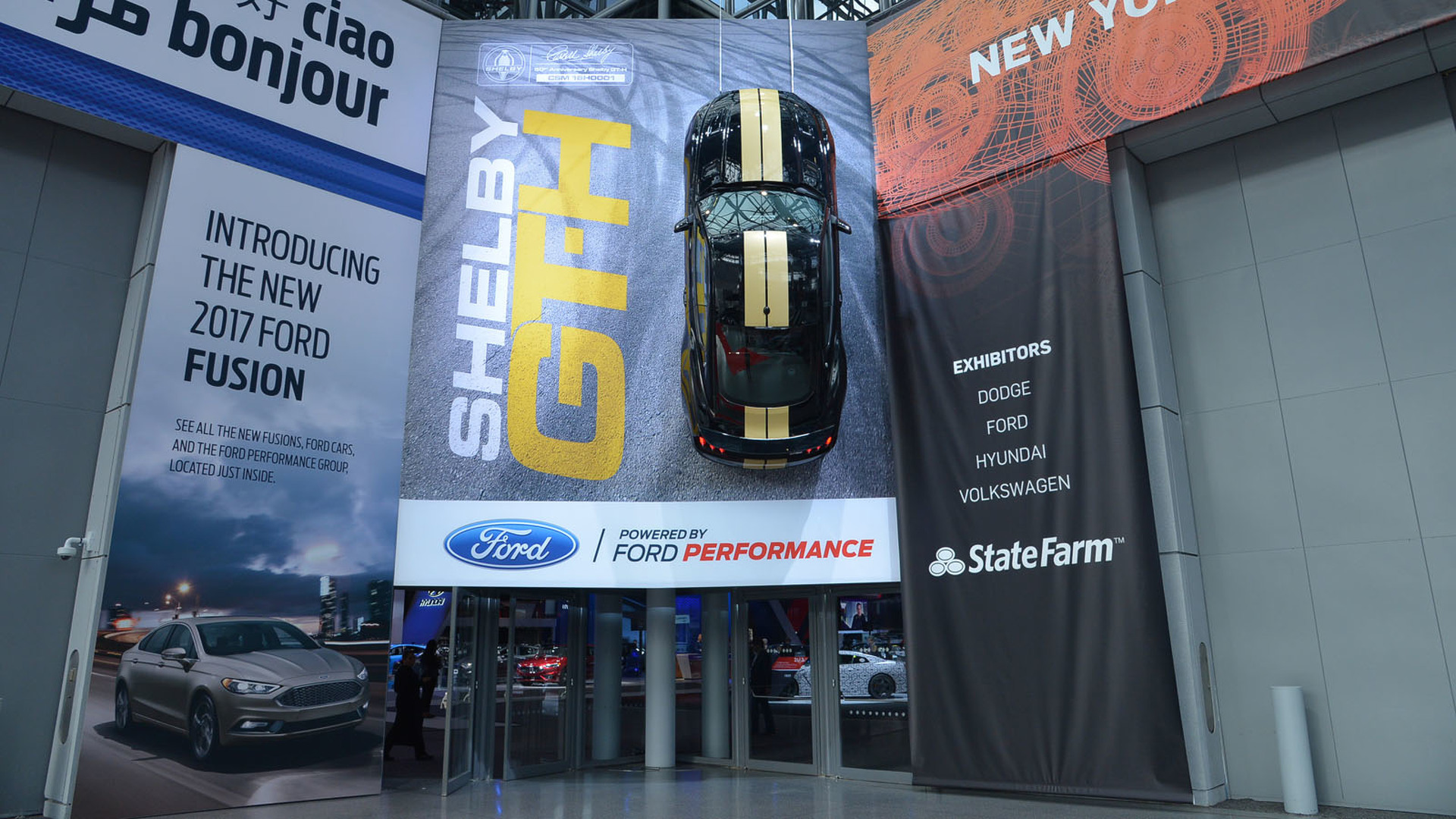 Ford Shelby GT-H unveiled in New York