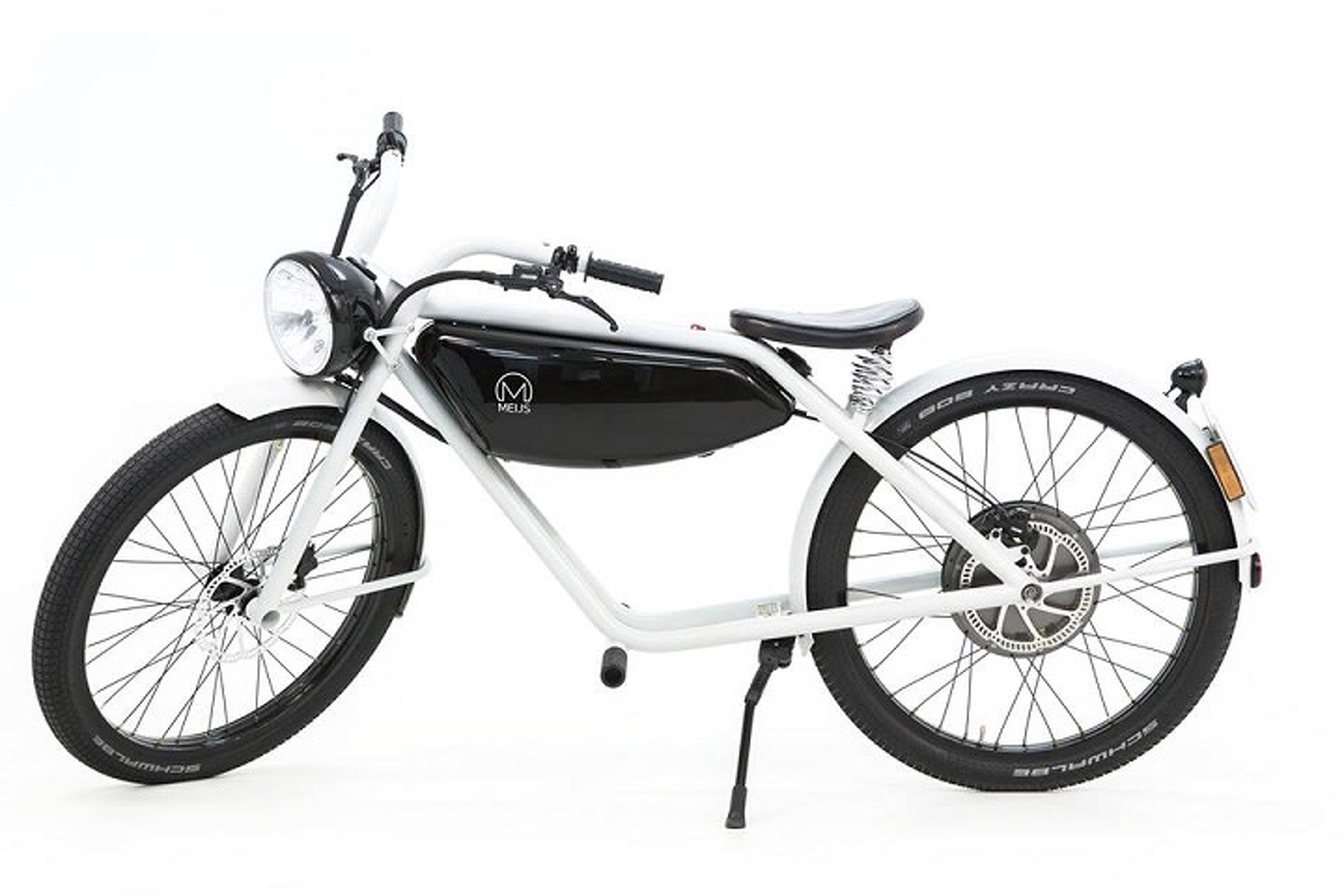 The Meijs Motorman is One Beautiful Electric Moped