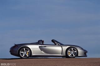 Porsche Carrera GT Abandoned in Canada?