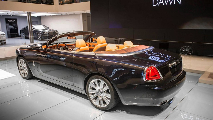 Rolls-Royce Dawn brings some style to Frankfurt Motor Show