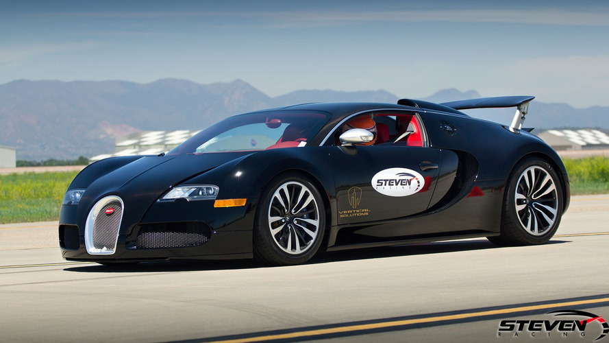 Watch a 13-year old go 202 mph in a Bugatti Veyron