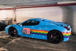 Deadmau5 is Selling His Nyan Cat Ferrari 458