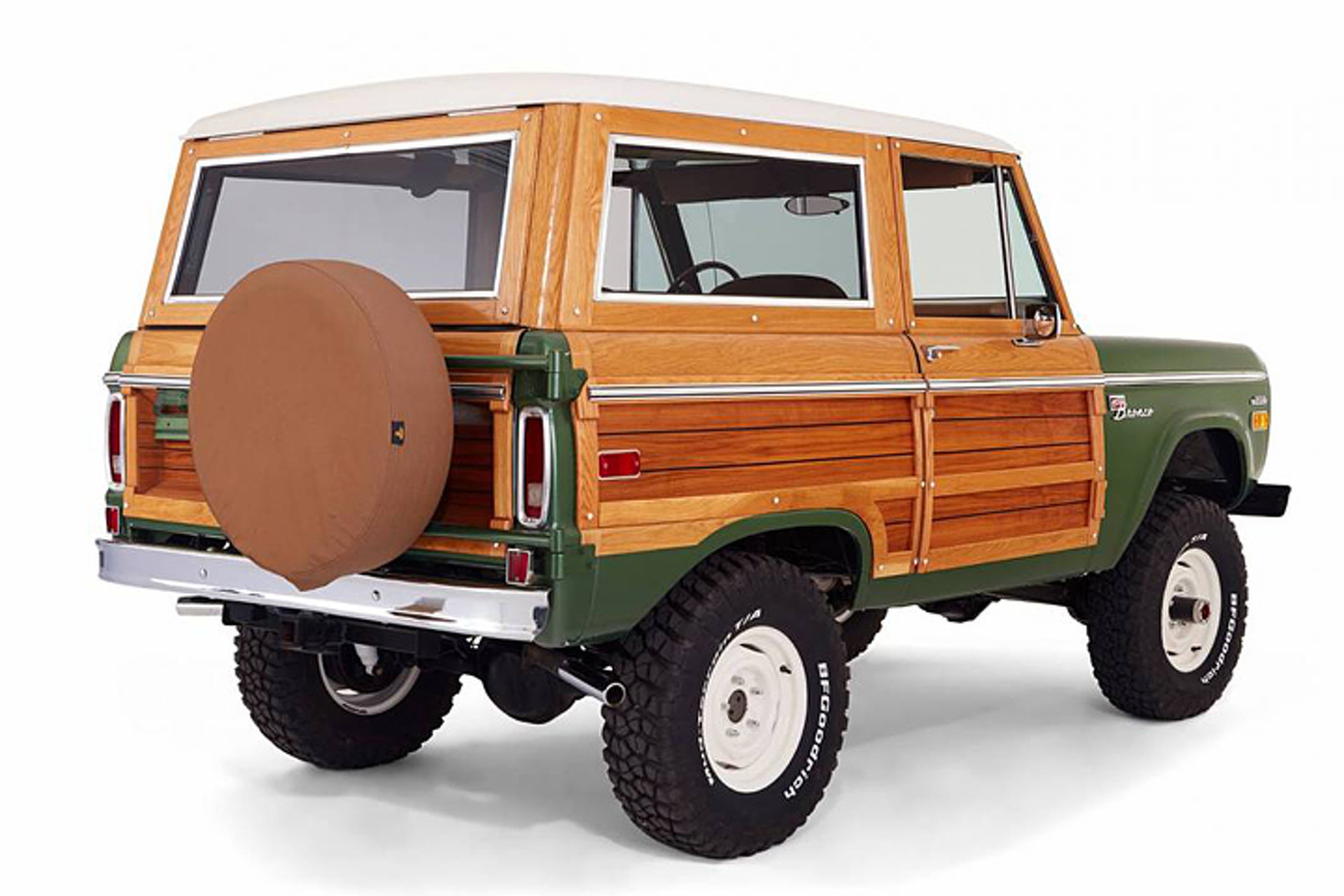 Custom 'Woodie' Ford Bronco is Truly One of a Kind