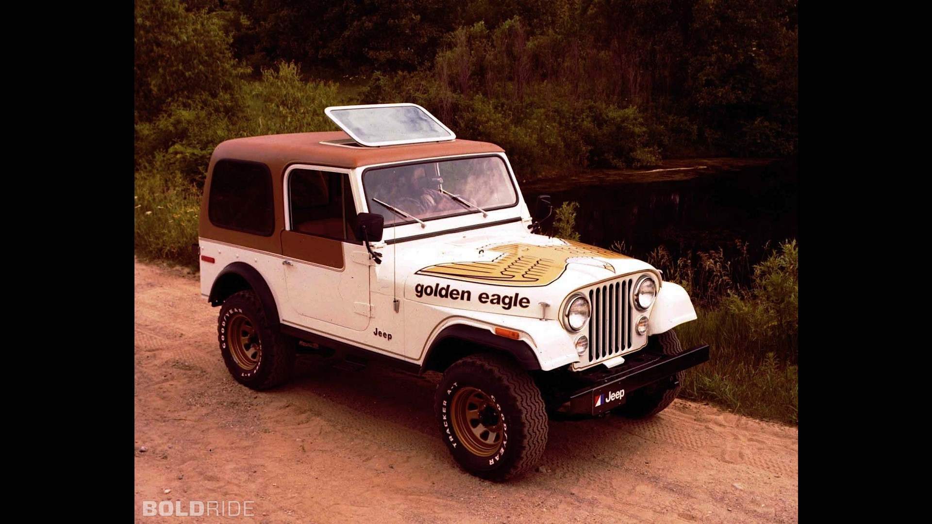 Jeep Cj 7 Golden Eagle