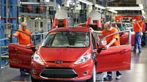 All-New Ford Fiesta Production Line