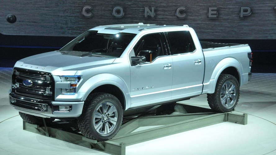 2015 Ford F-150 coming to NAIAS with Atlas looks and aluminum body panels - report