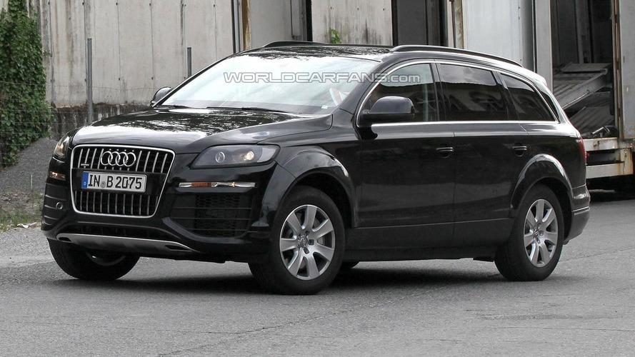 Next-gen Audi Q7 mule spied