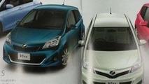 2012 Toyota Yaris brochure images leak