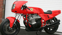 One-Off Ferrari Motorcycle Fails to Sell at Auction