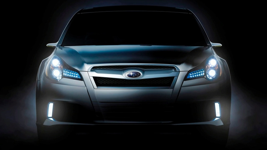 Subaru Legacy concept teaser released ahead of Detroit debut