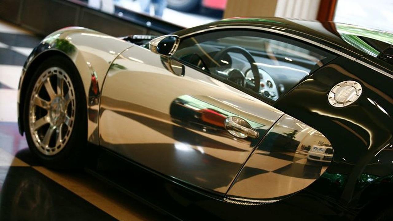 Bugatti Veyron Centenaire in London dealership