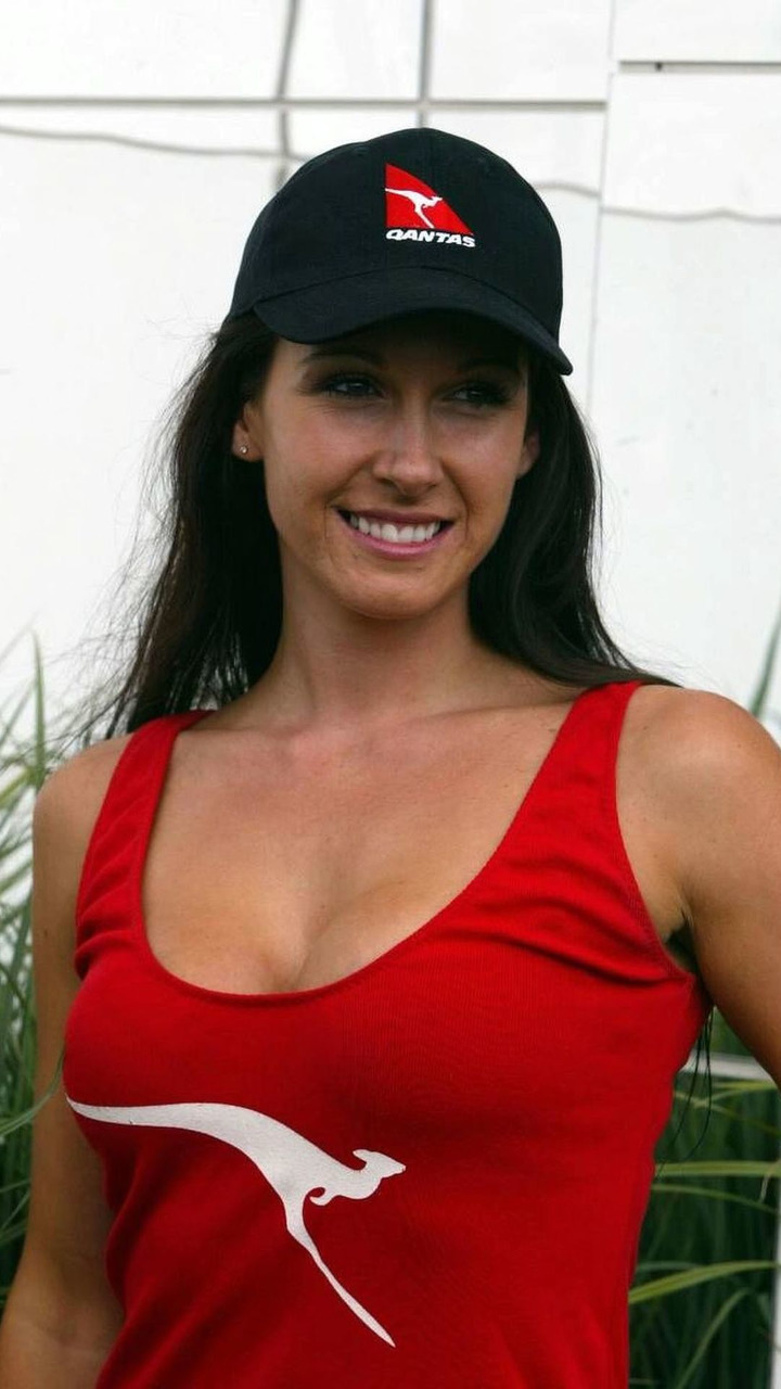 QUANTAS GIRL, Australian Grand Prix, 05.03.2005, Melbourne, Australia
