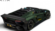 Lamborghini Aventador LP1200-4R concept by DMC envisioned, would pack 1,200 HP and cost 2.5M USD
