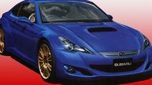 Subaru Coupe 216A artist renderings