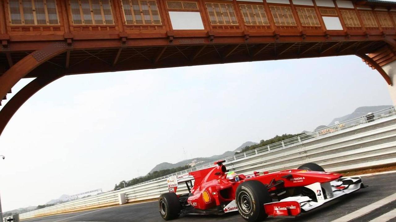 Felipe Massa (BRA), Scuderia Ferrari - Formula 1 World Championship, Rd 17, Korean Grand Prix, 22.10.2010 Yeongam, Korea