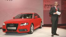 The all-new Audi A4 Avant at the Geneva Motor Show!