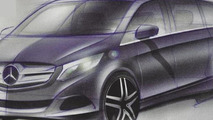 2014 Mercedes-Benz Viano to go on sale next July with V-Class nameplate - report