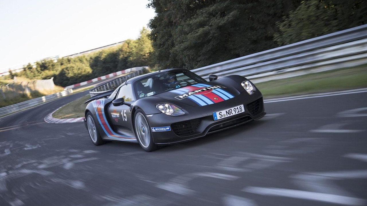 Record Run 918 Spyder Nürburgring