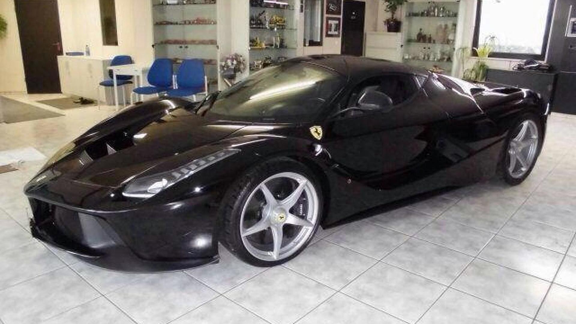 Brand new black LaFerrari on sale in Dubai for $3.4 million, almost double than original price