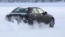 2014 Mercedes C-Class spied undergoing winter testing
