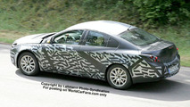 SPY PHOTOS: New Opel Vectra
