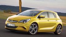 Next-gen Opel Corsa render / Automedia