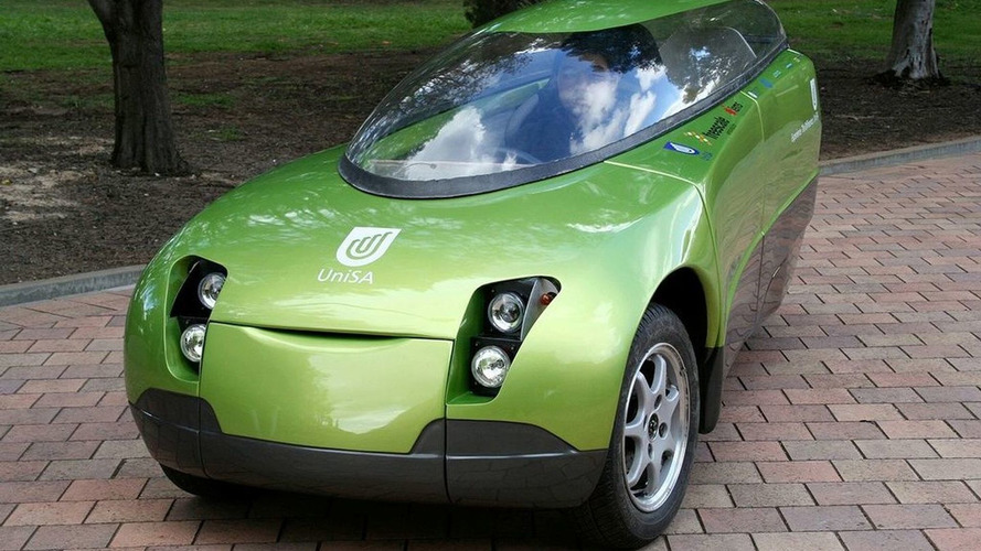 TREV Electric Vehicle Shows Green Future