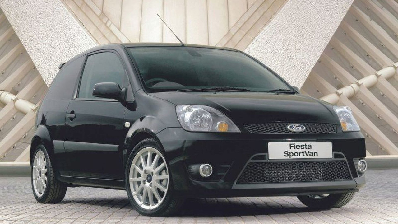 New Ford Fiesta SportVan