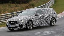 Photos espion - La future Jaguar XF Sportbrake à fond sur le Nürburgring