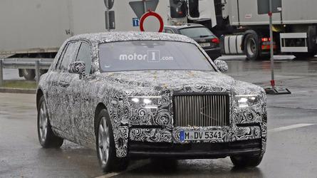 2018 Rolls-Royce Phantom spy photos