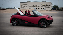 Local Motors unveils their 3D-printed LM3D Swim
