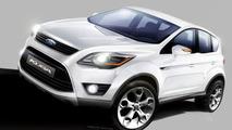 Frankfurt Tease: All New Ford Kuga