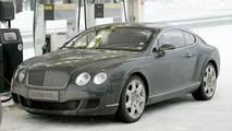 SPY PHOTOS: Bentley Continental GT Facelift