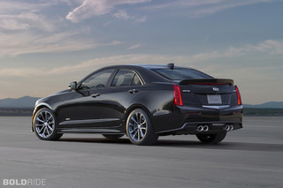Cadillac ATS-V Sedan Gets More Power, More Angles