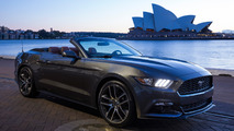 Ford Mustangs around the world